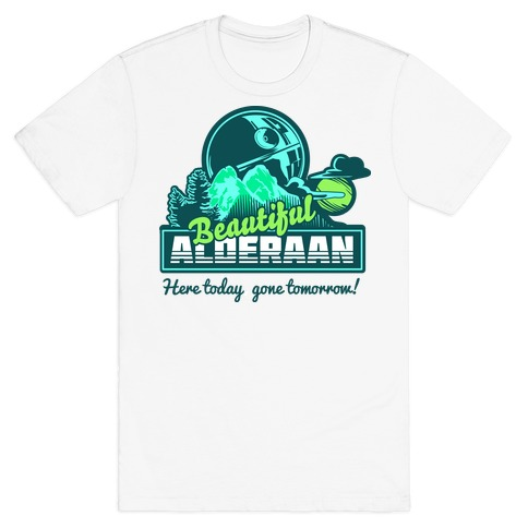 Beautiful Alderaan Vacation T-Shirt