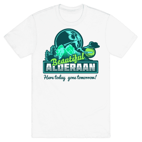 Beautiful Alderaan Vacation Mens T-Shirt