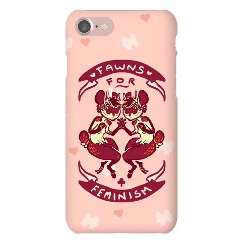 Fawns For Feminism Phone Case