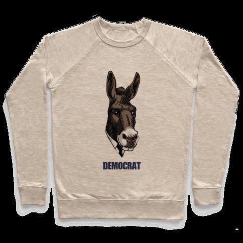 Democratic Donkey Pullover