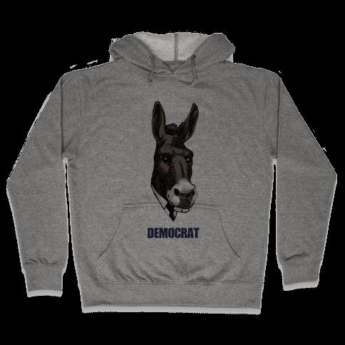 Democratic Donkey Hooded Sweatshirt