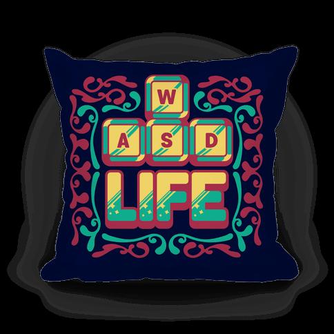 WASD Life Pillow