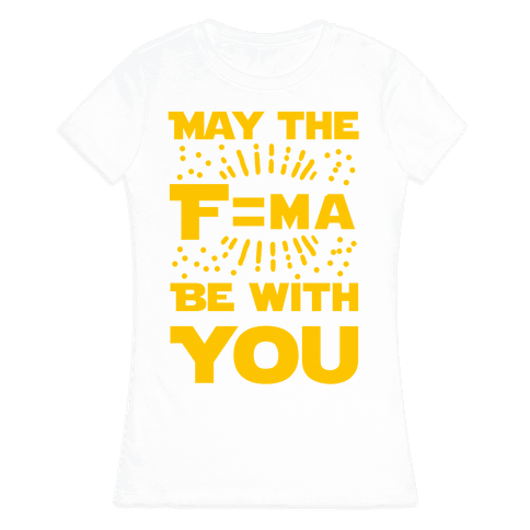 May the F=MA be With You! Womens T-Shirt