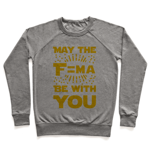 May the F=MA be With You! Pullover