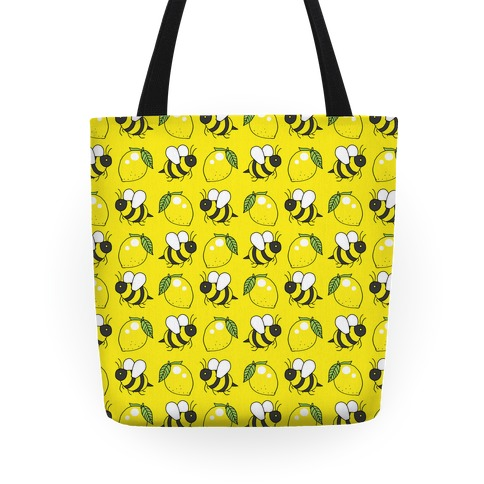 Lemon and Bee Tote