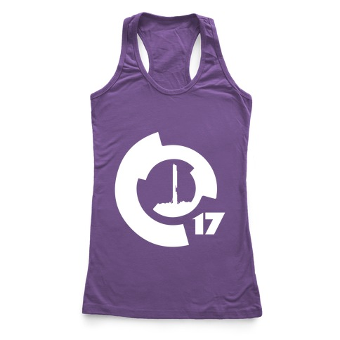 City 17 Racerback Tank Top