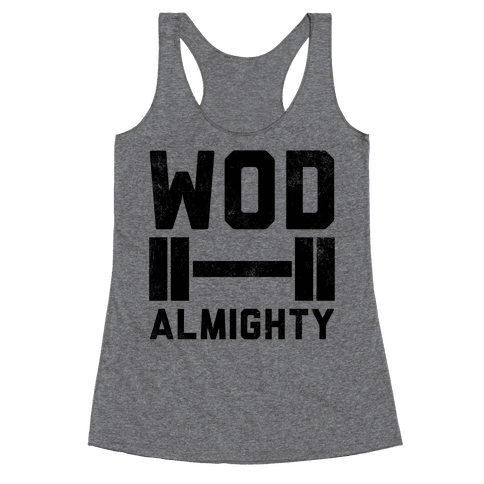 WOD Almighty Racerback Tank Top