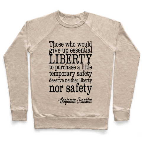 Liberty & Safety Pullover