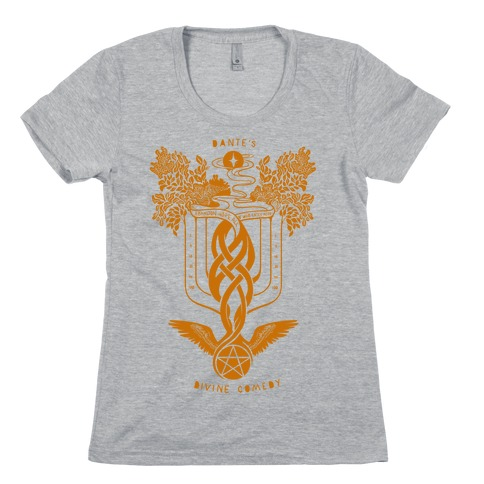Dante's Divine Comedy Womens T-Shirt