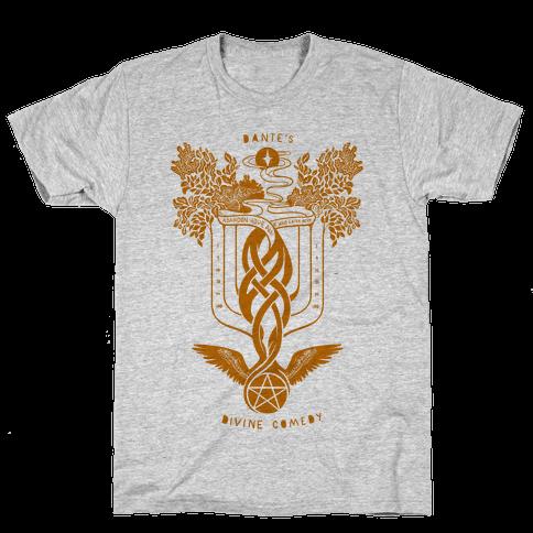 Dante's Divine Comedy Mens T-Shirt