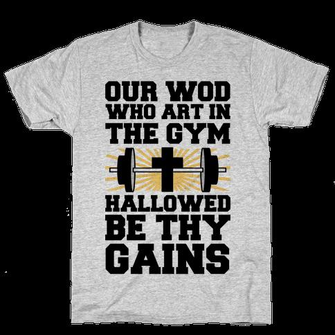 The Fitness Prayer Mens T-Shirt