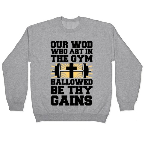 The Fitness Prayer Pullover