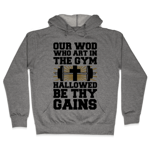 The Fitness Prayer Hooded Sweatshirt