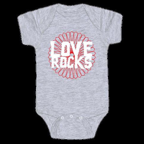 Love Rocks Baby Onesy