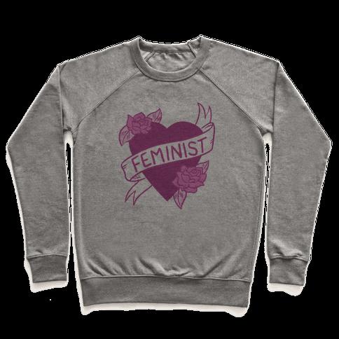Feminist Heart Pullover