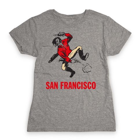 San Francisco (Vintage) Womens T-Shirt
