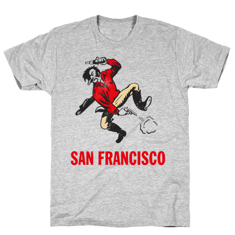 San Francisco (Vintage) Mens T-Shirt