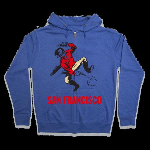 San Francisco (Vintage) Zip Hoodie