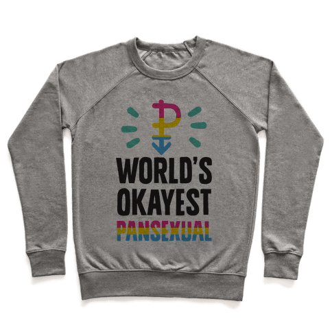 World's Okayest Pansexual Pullover