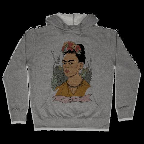 Frida #Selfie Hooded Sweatshirt
