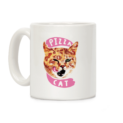 Pizza Cat Coffee Mug