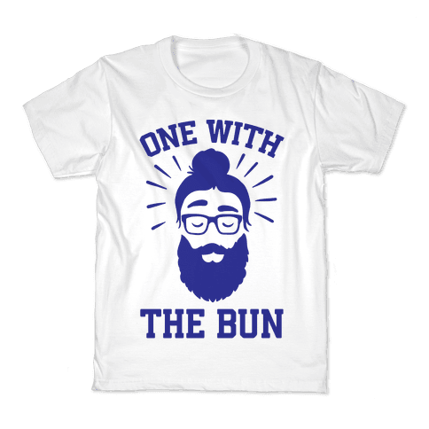One With The Bun Kids T-Shirt