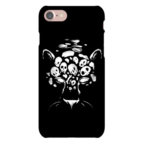 Spooky Skulls Jaguar Phone Case