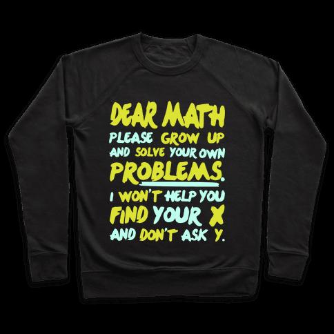 Dear Math Pullover