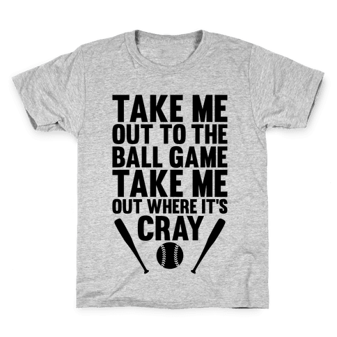Take Me Out To The Ball Game Kids T-Shirt