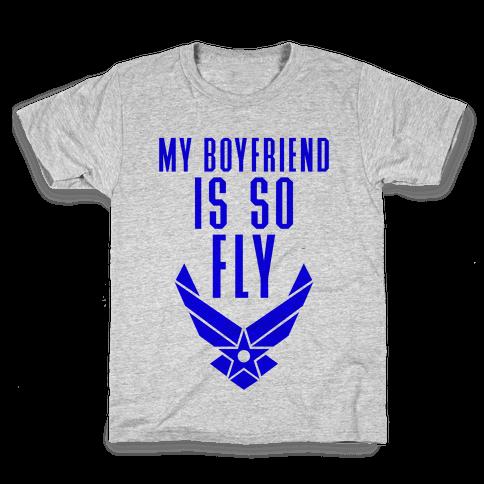My Boyfriend Is So Fly Kids T-Shirt