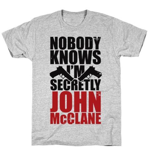 Nobody Knows Hard Mens T-Shirt