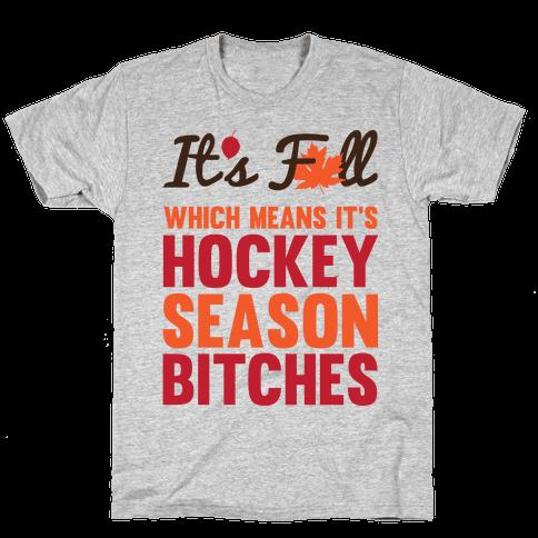 Hockey Season Mens/Unisex T-Shirt