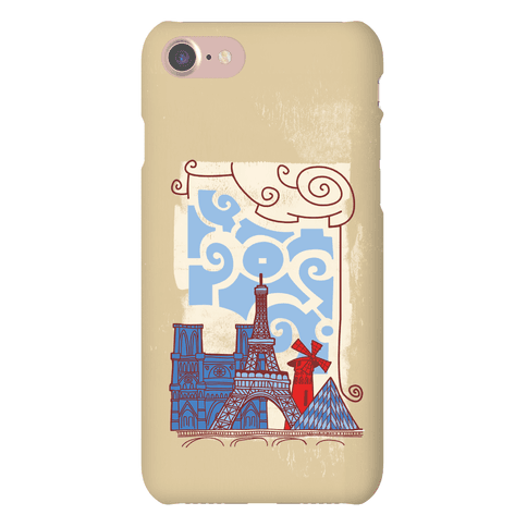 The City of Love Phone Case