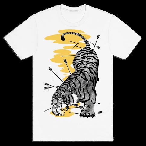 Tyger, Tyger Mens T-Shirt