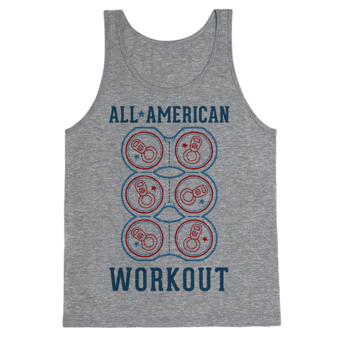 All American Workout Tank Top