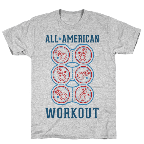 All American Workout Mens T-Shirt
