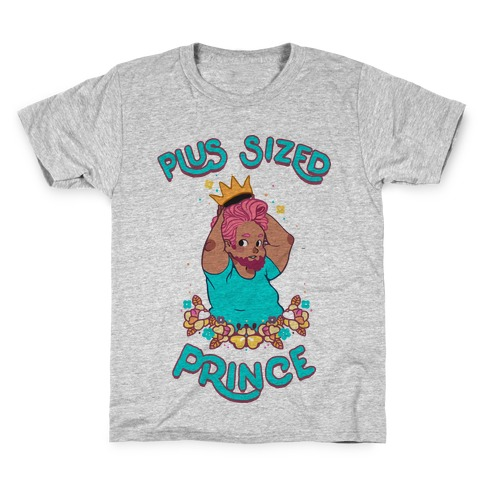 Plus Sized Prince Kids T-Shirt