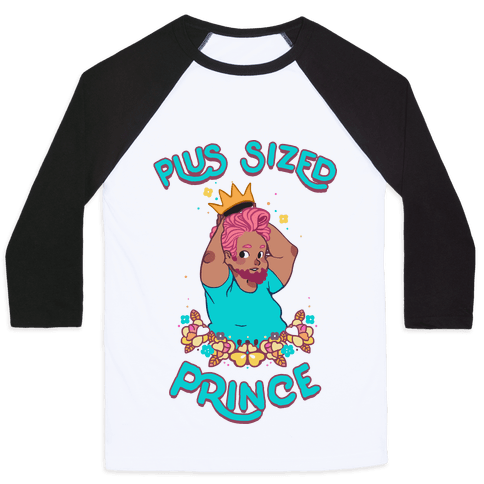 Plus Sized Prince Baseball Tee
