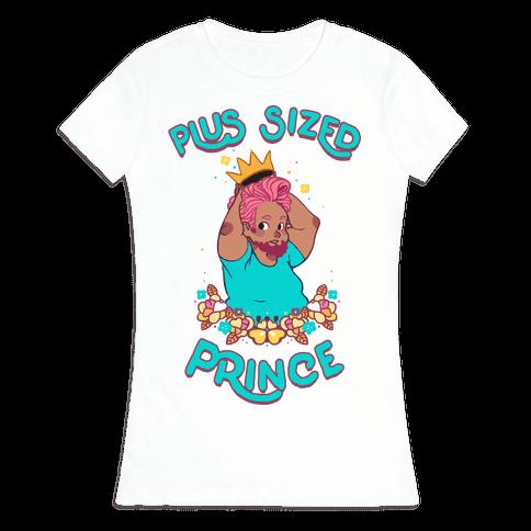 Plus Sized Prince Womens T-Shirt