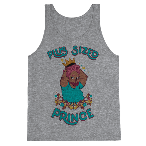 Plus Sized Prince Tank Top