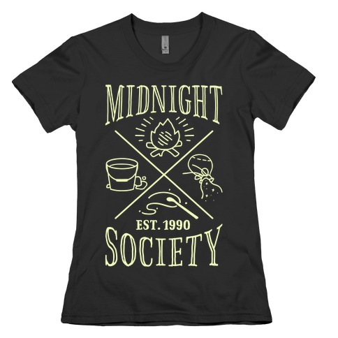 Midnight Society Womens T-Shirt