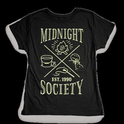 Midnight Society Womens T-Shirt