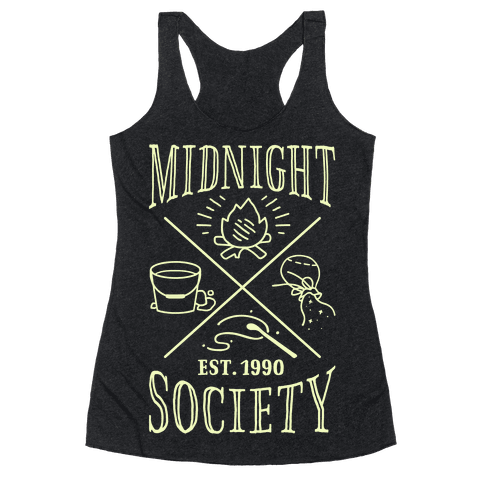 Midnight Society Racerback Tank Top
