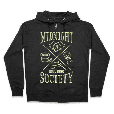 Midnight Society Zip Hoodie