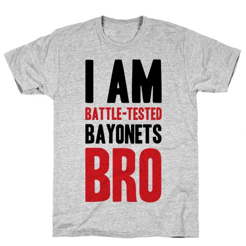 Battle Tested Bro Mens T-Shirt