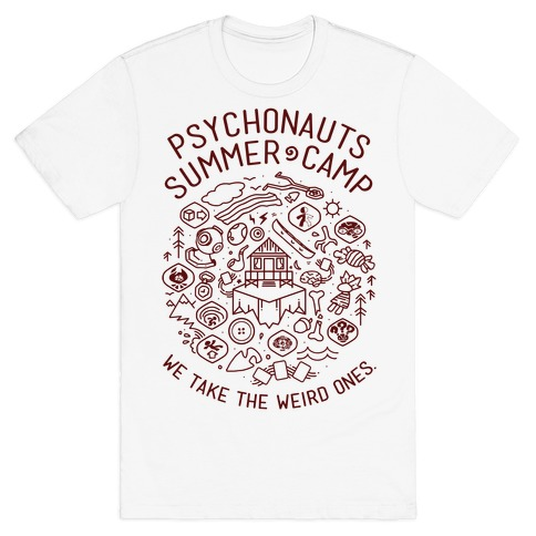 Psychonauts Summer Camp T-Shirt