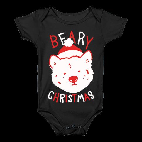 Beary Christmas Baby Onesy