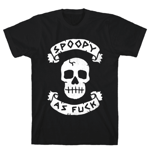 Spoopy as F*** Mens T-Shirt