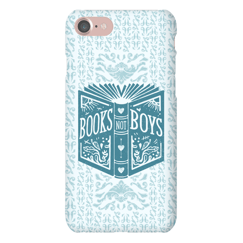 Books Not Boys Phone Case