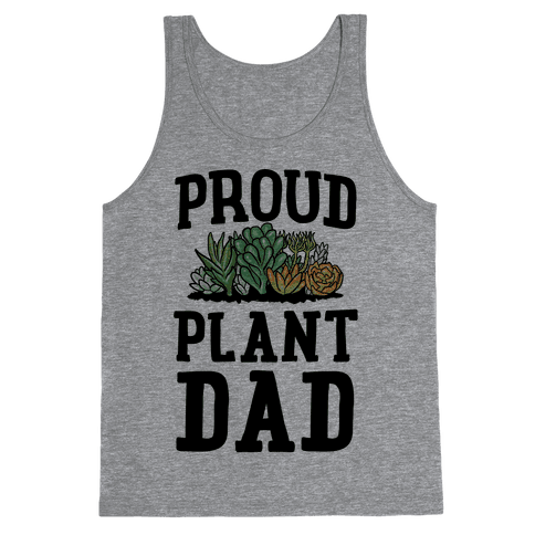 Proud Plant Dad Tank Top